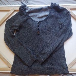 Ezekiel scoop-neck hoodie